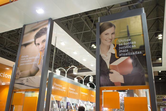 Empenas - Estande Elsevier Bienal Livro RJ